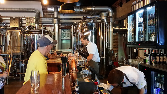 Interior Photo Of A Craft Brewery - Columbia Distributing