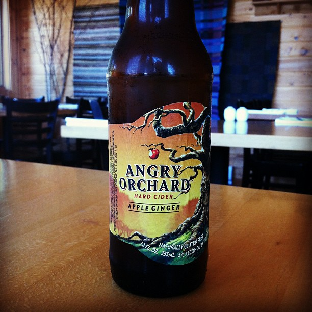 Photo Of A Bottle Of Angry Orchard Cider - Columbia Distributing