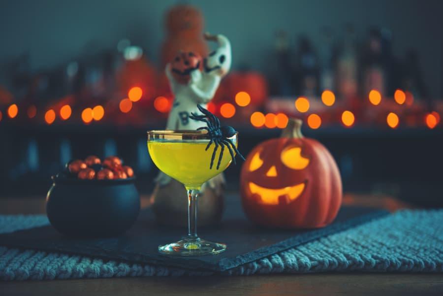 Pumpkin Cocktail For Halloween