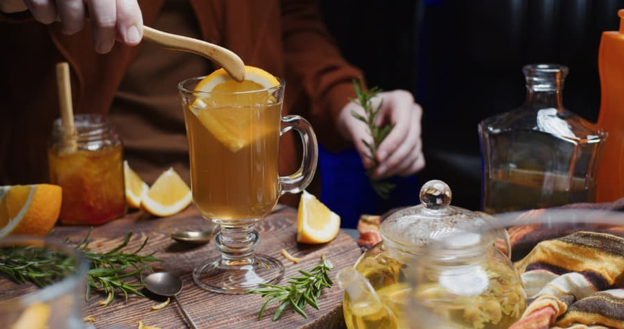 Preparing Warm Mixed Drinks